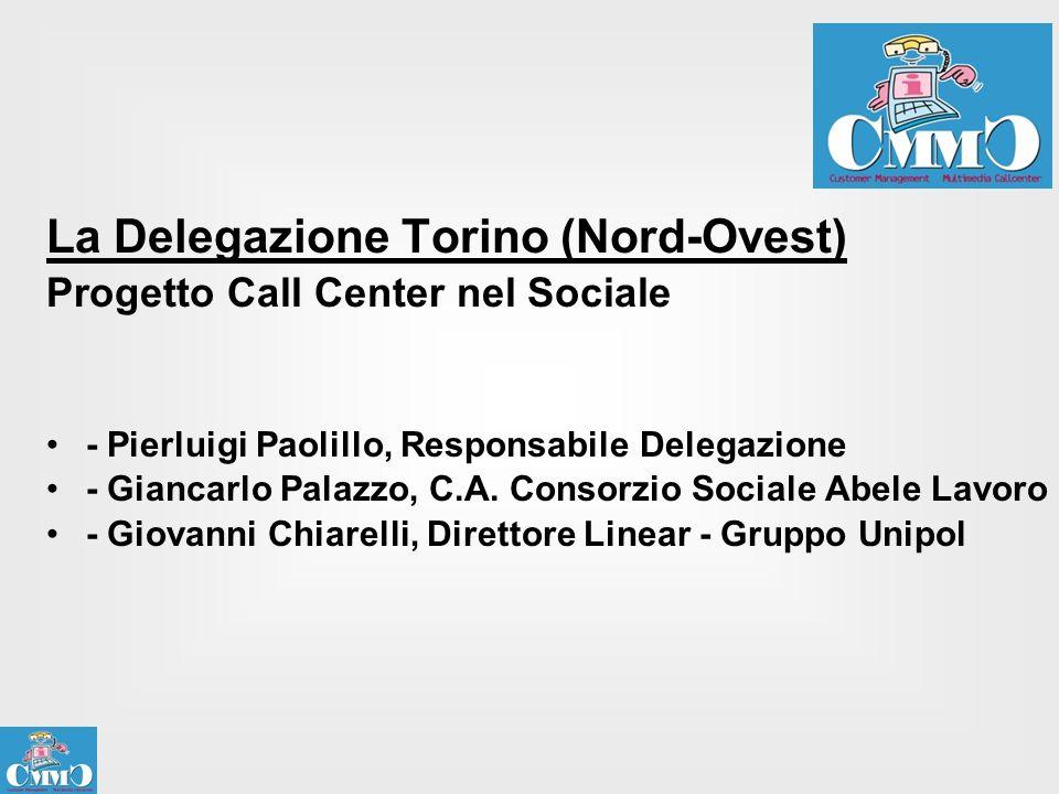 La Delegazione Torino (Nord-Ovest)