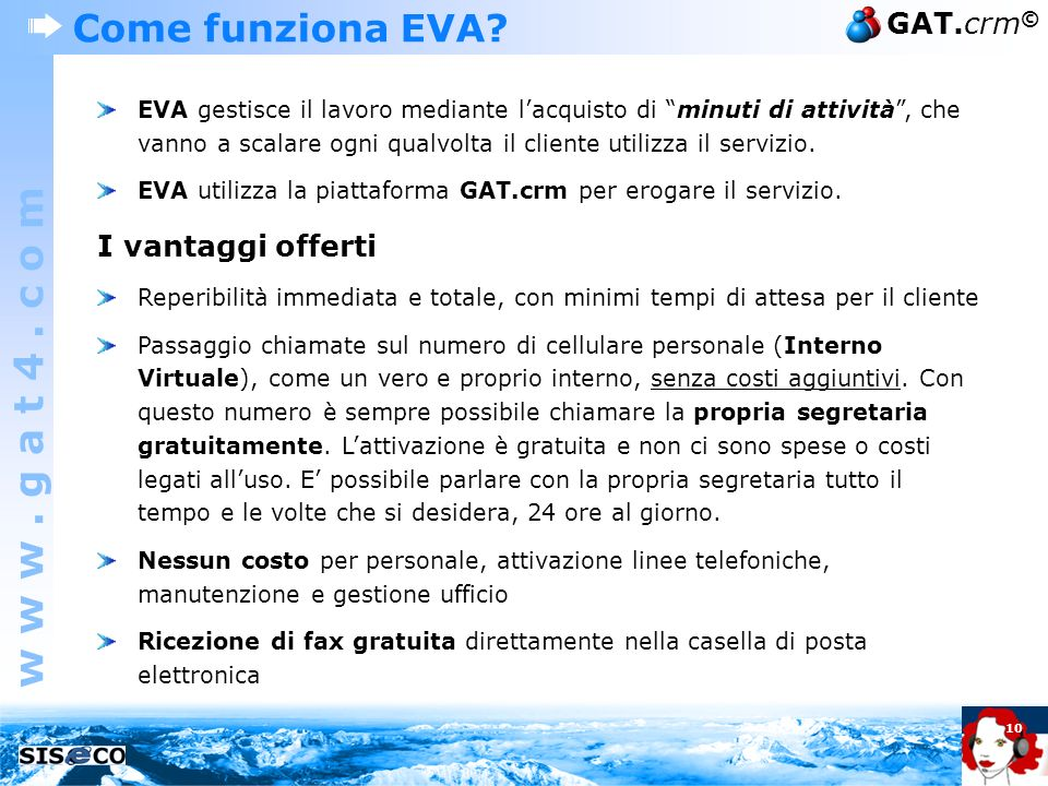 Executive virtual assistant eva la segretaria virtuale for Costo per costruire sul proprio lotto