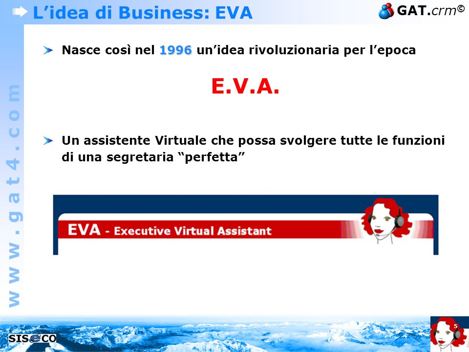 L'idea di Business: EVA