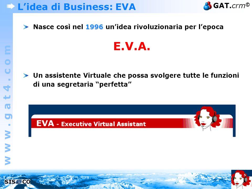 L'idea di Business: EVA