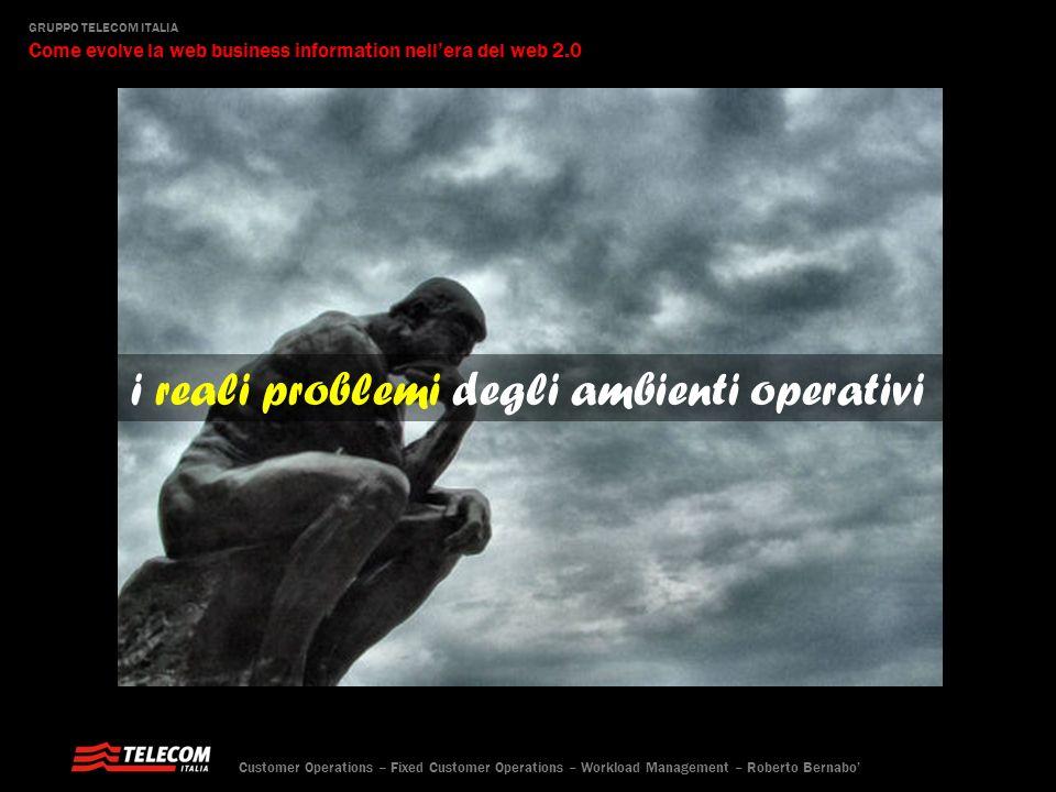 i reali problemi degli ambienti operativi