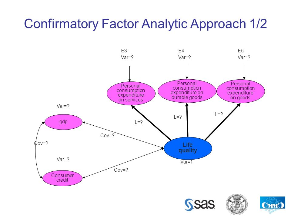 Confirmatory Factor Analytic Approach 1/2