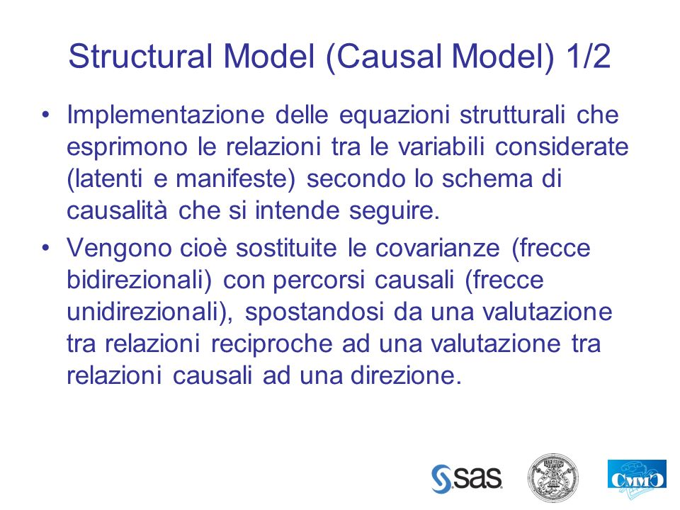 Structural Model (Causal Model) 1/2