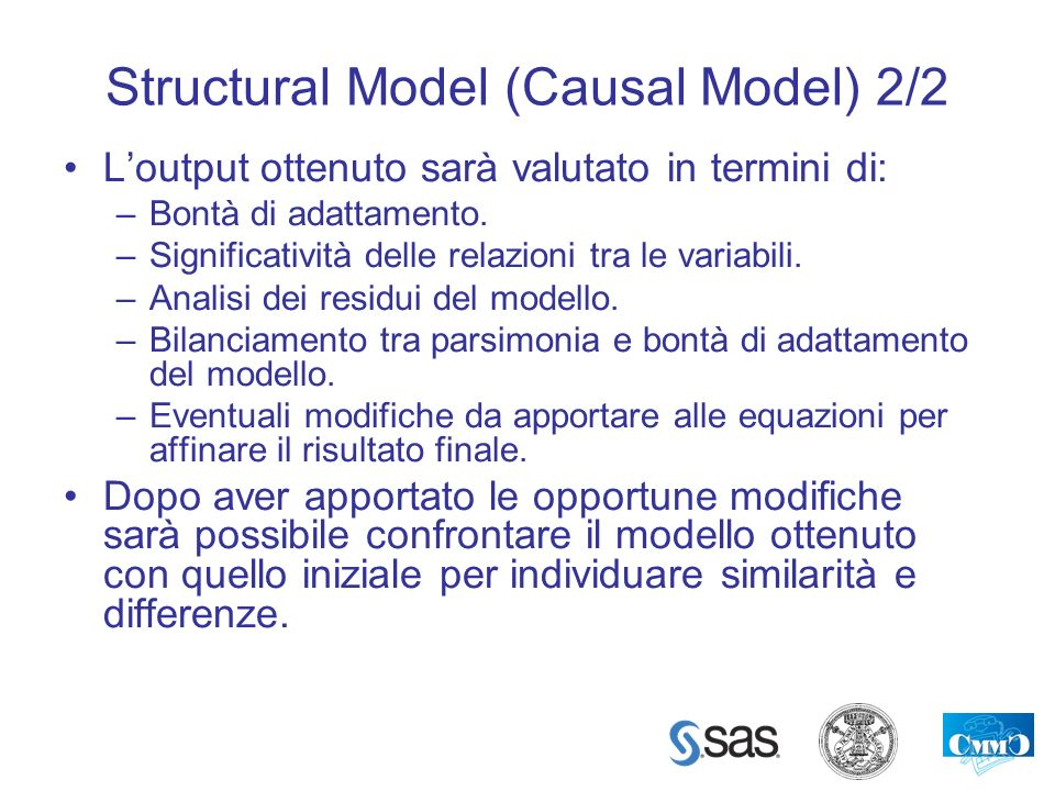 Structural Model (Causal Model) 2/2