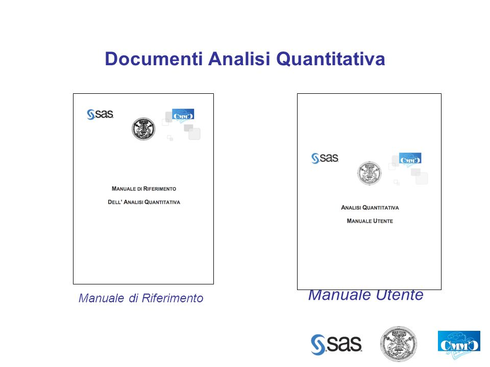 Documenti Analisi Quantitativa