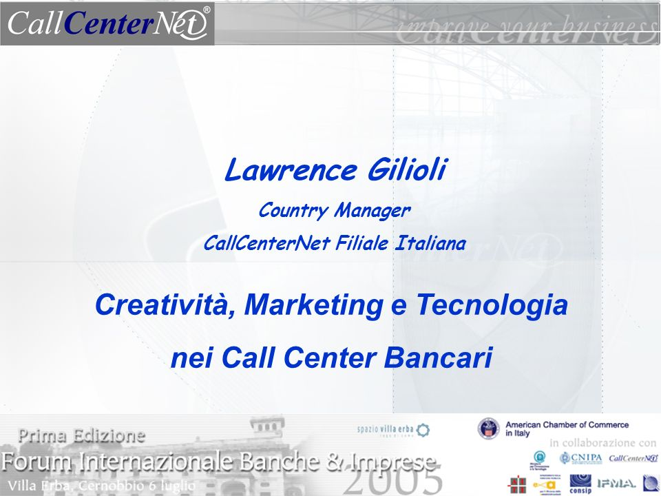 Creatività, Marketing e Tecnologia nei Call Center Bancari