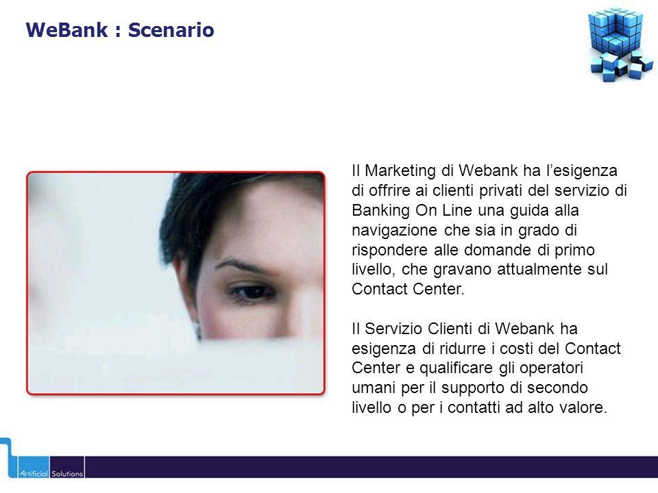 WeBank : Scenario