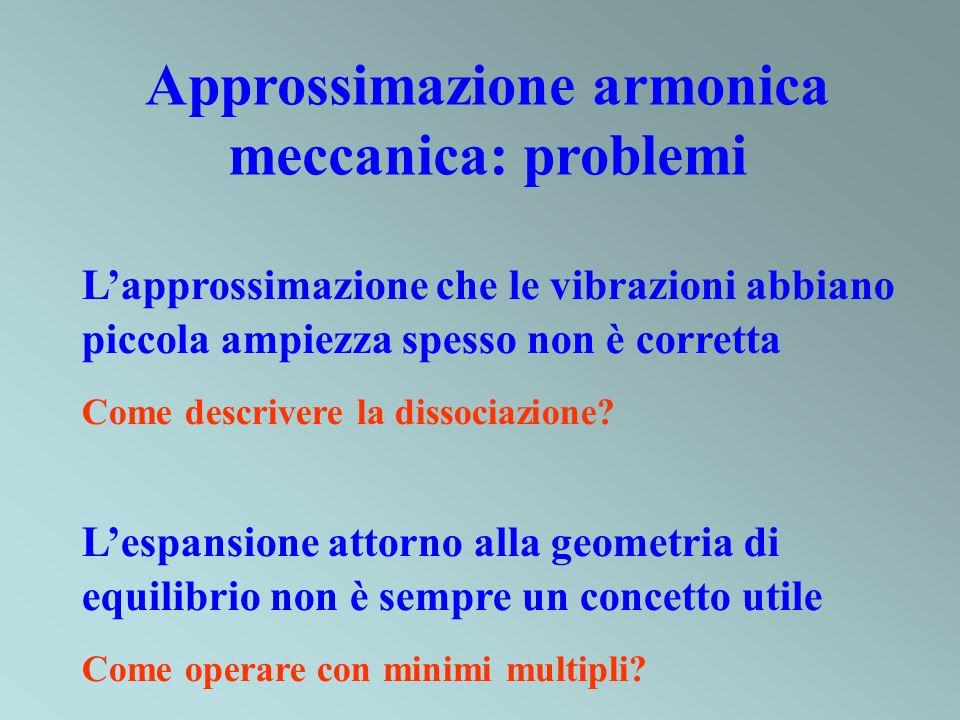 Approssimazione armonica meccanica: problemi