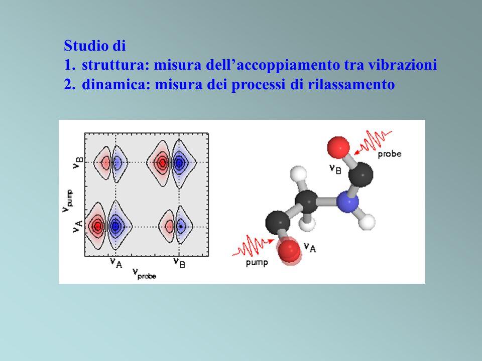 Studio di struttura: misura dell'accoppiamento tra vibrazioni.