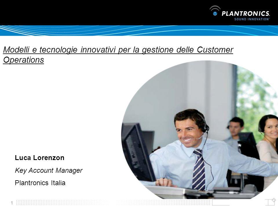 Modelli e tecnologie innovativi per la gestione delle Customer Operations