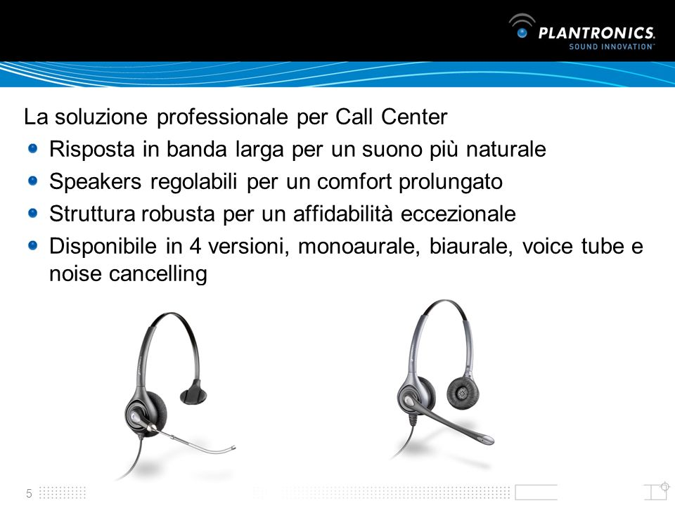 La soluzione professionale per Call Center