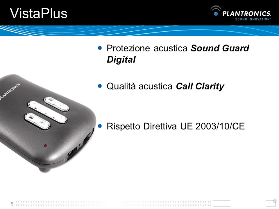 VistaPlus Protezione acustica Sound Guard Digital