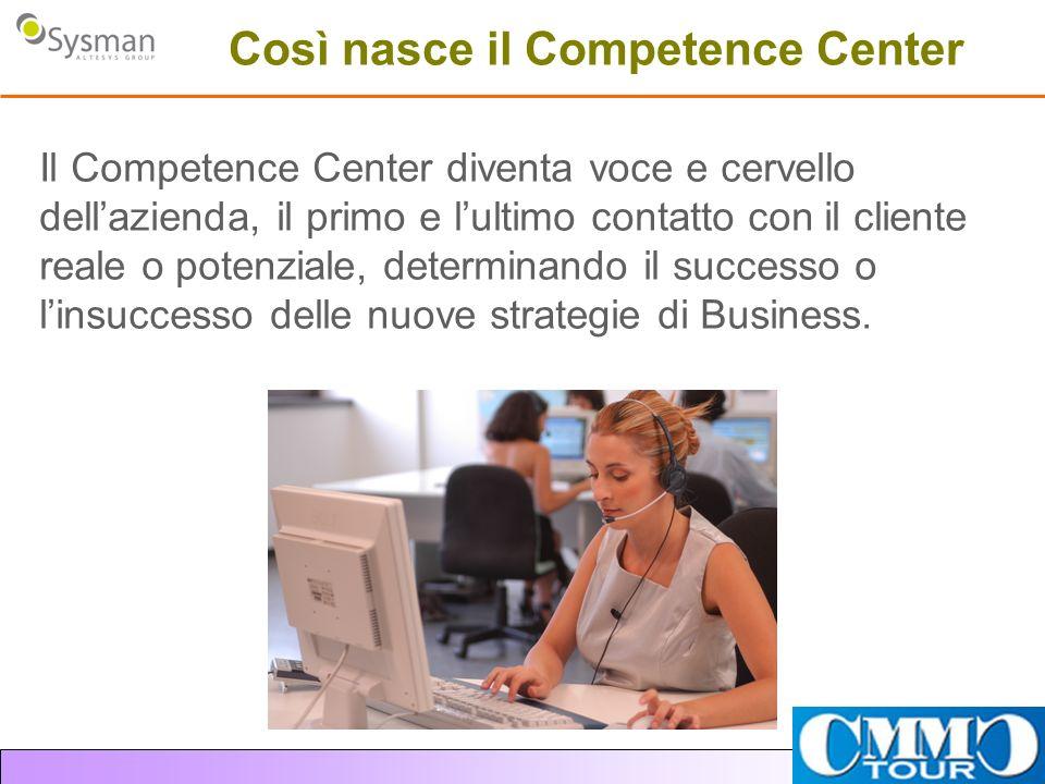 Così nasce il Competence Center