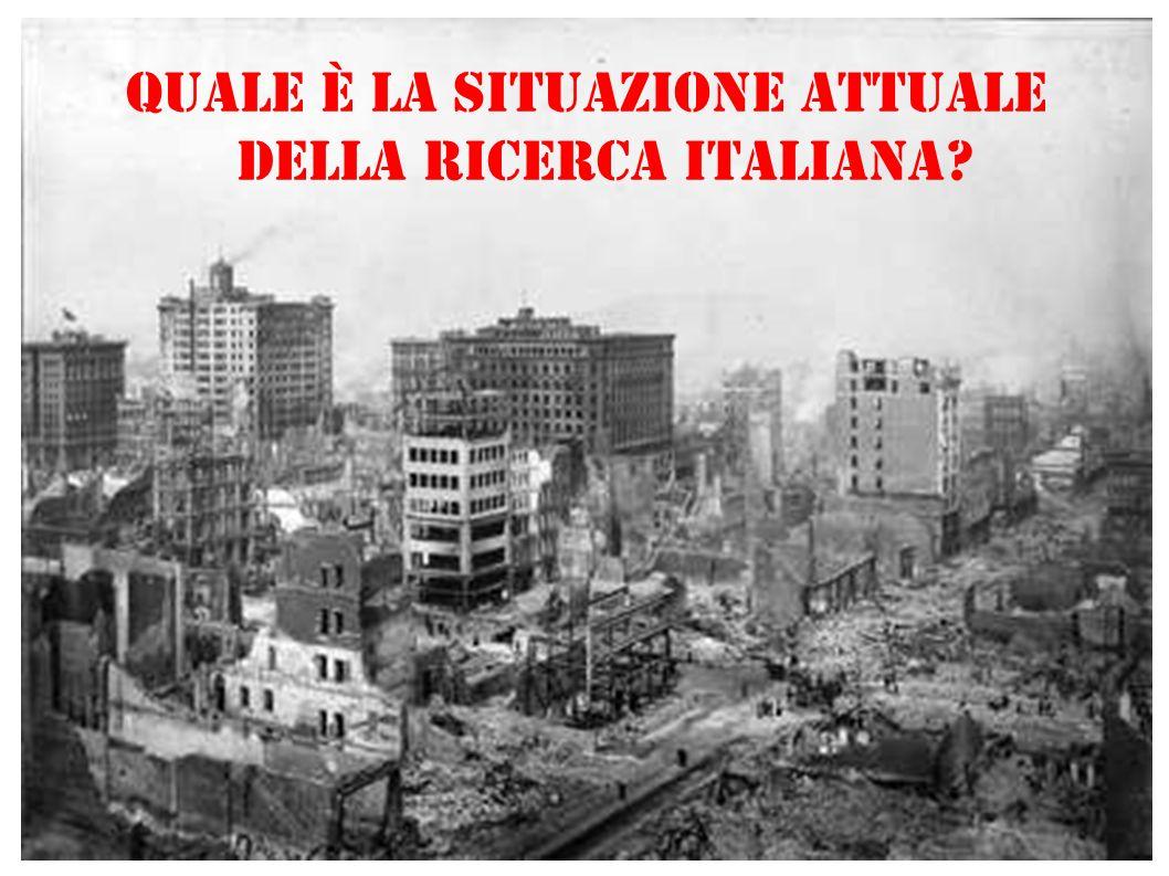 Quale è la situazione attuale della Ricerca Italiana