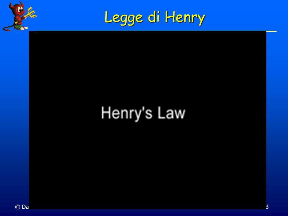 Legge di Henry © Dario Bressanini