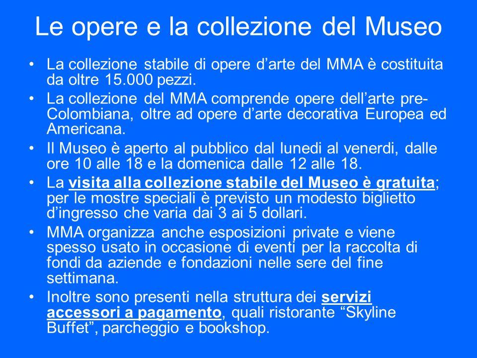 Le opere e la collezione del Museo