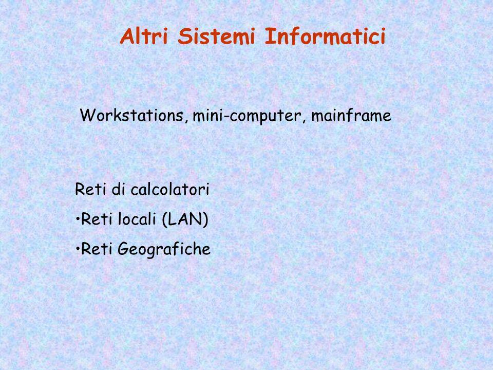 Altri Sistemi Informatici