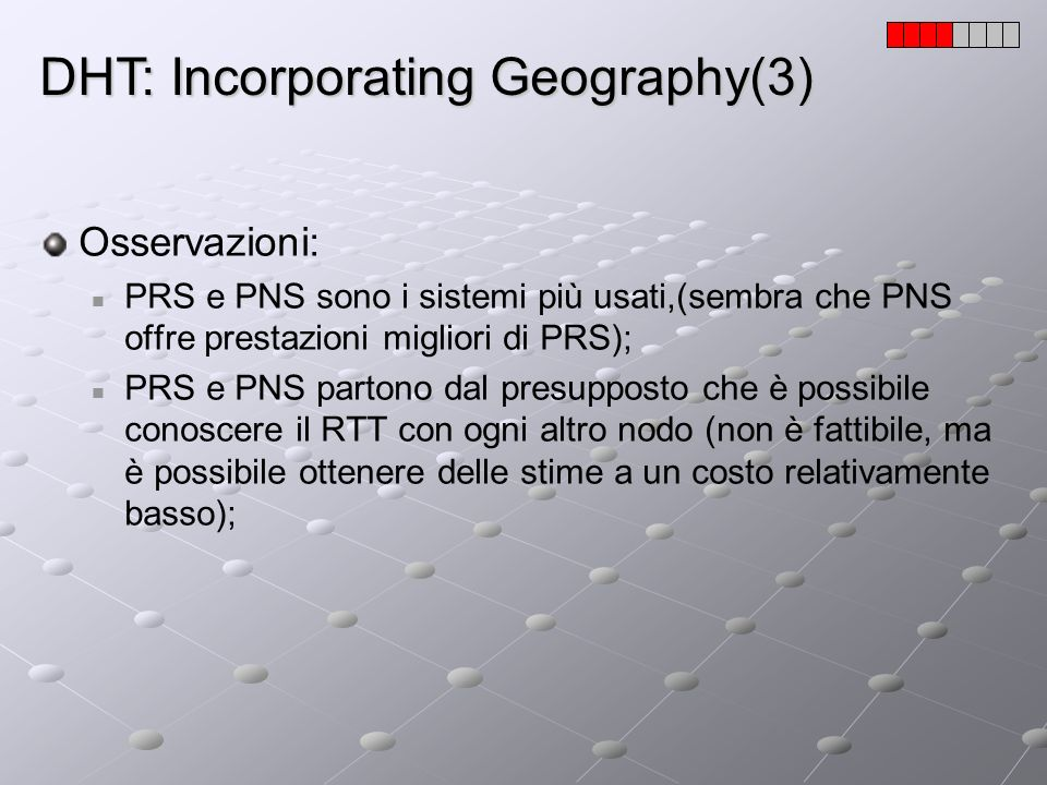 DHT: Incorporating Geography(3)