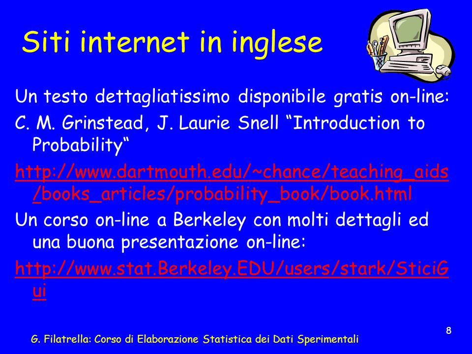 Siti internet in inglese