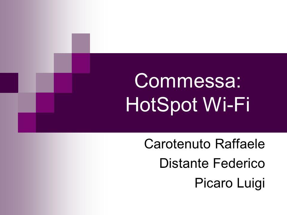 Commessa: HotSpot Wi-Fi