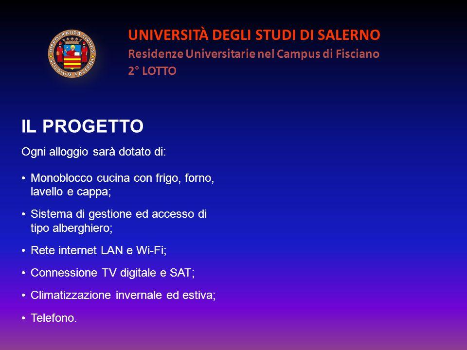 IL PROGETTO UNIVERSITÀ DEGLI STUDI DI SALERNO