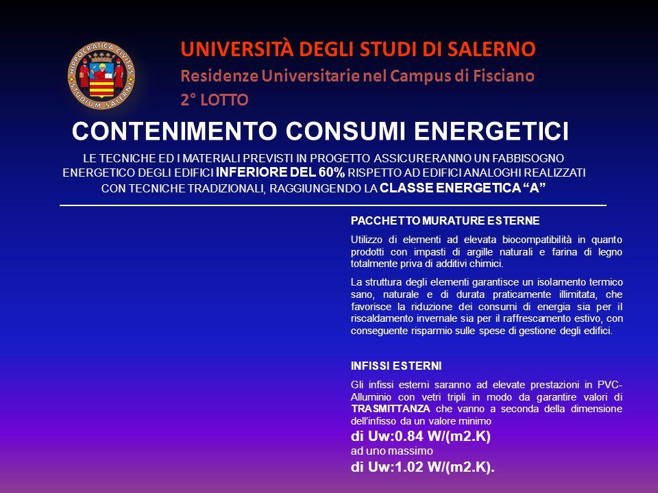 CONTENIMENTO CONSUMI ENERGETICI