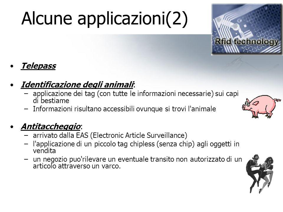 Alcune applicazioni(2)