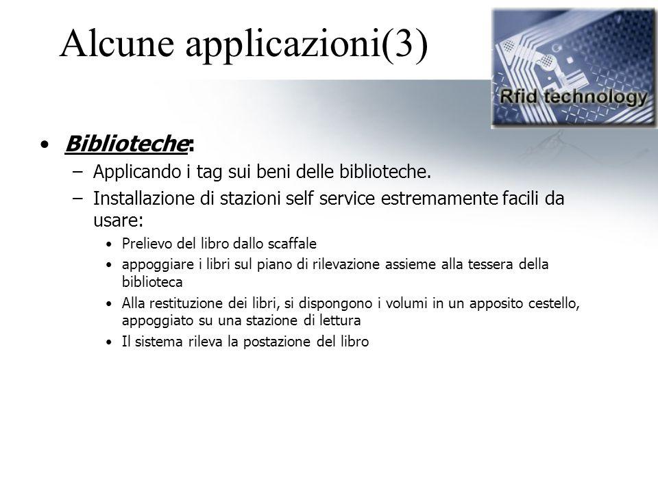Alcune applicazioni(3)