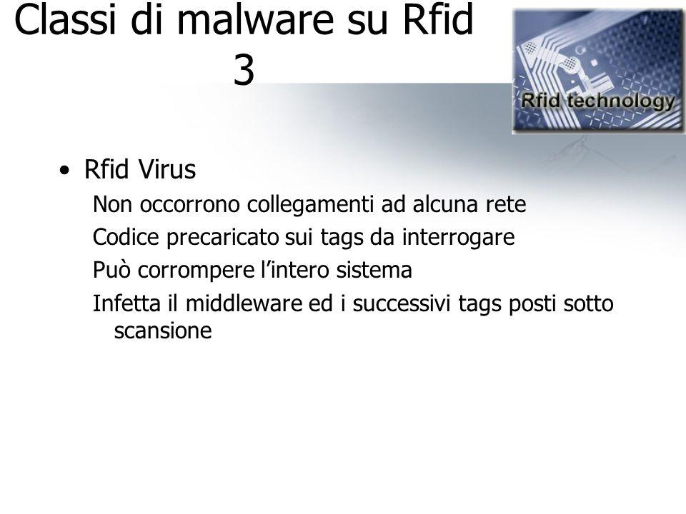 Classi di malware su Rfid 3