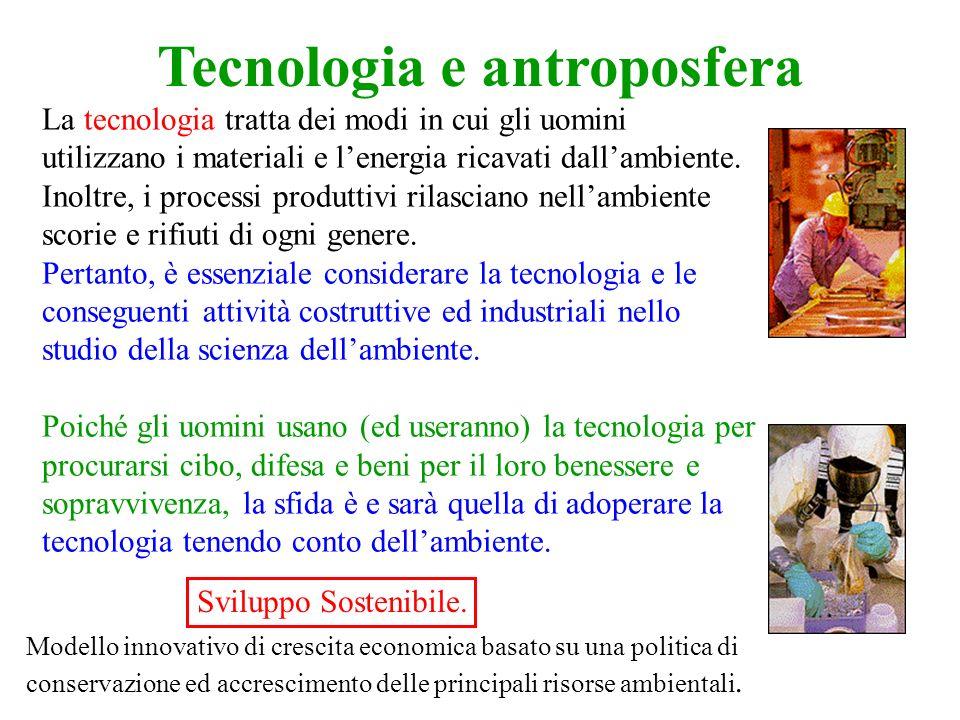 Tecnologia e antroposfera
