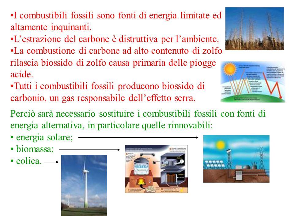 L'estrazione del carbone è distruttiva per l'ambiente.