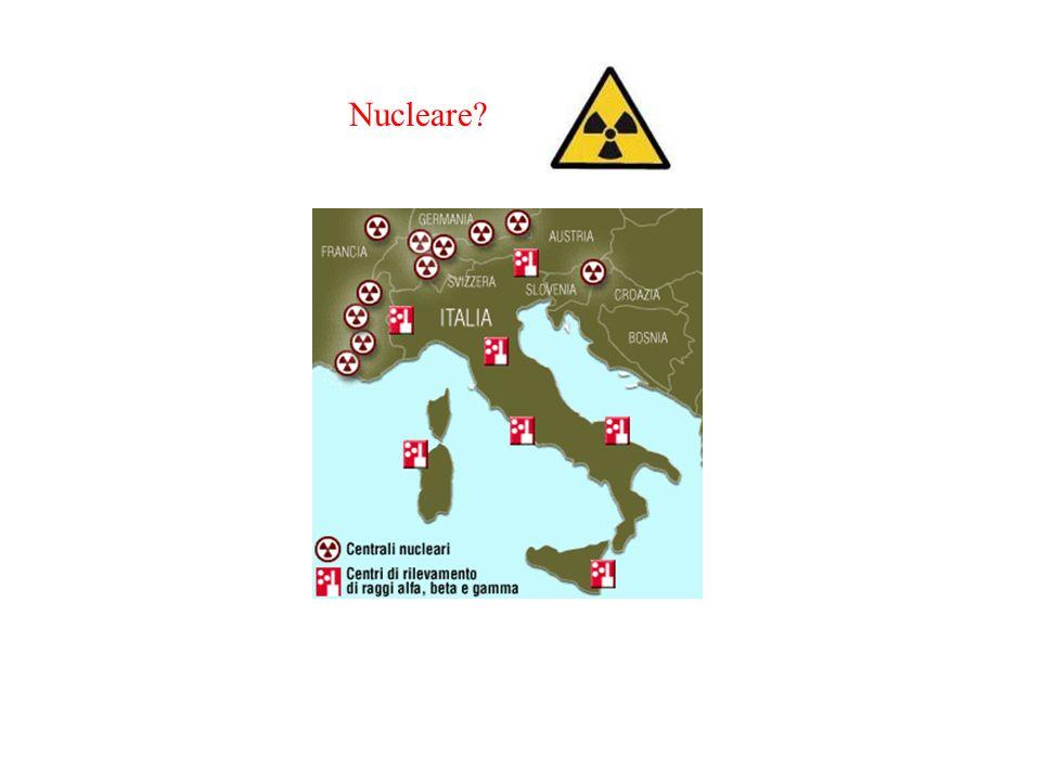 Nucleare L'Italia è circondata da centrali nucleari, tredici di esse