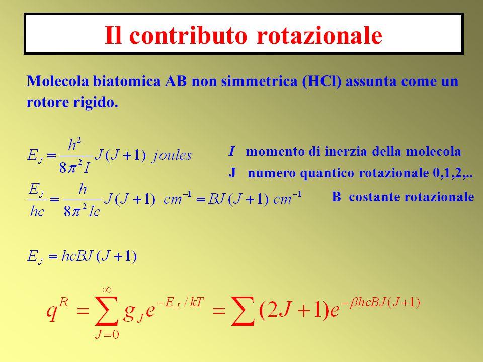 Il contributo rotazionale