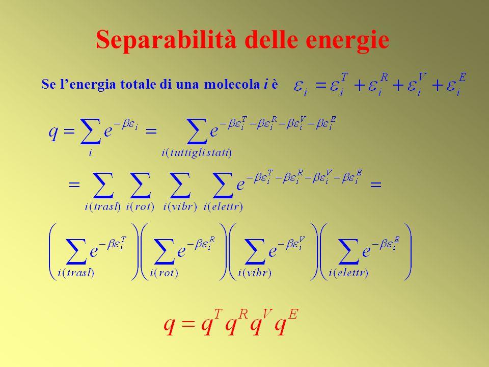 Separabilità delle energie