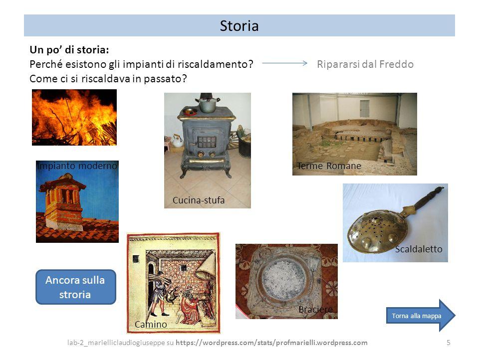 Storia Un po' di storia: