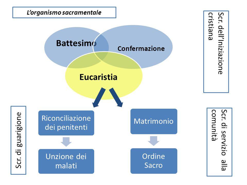 L'organismo sacramentale