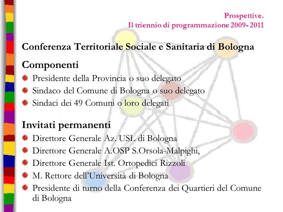 Prospettive. Il triennio di programmazione 2009- 2011