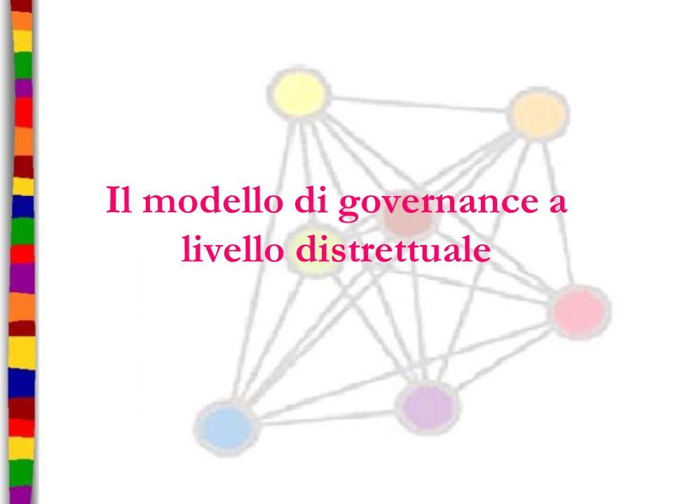 Il modello di governance a livello distrettuale
