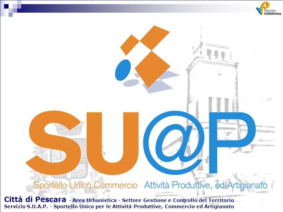 Città di Pescara - Area Urbanistica - Settore Gestione e Controllo del Territorio