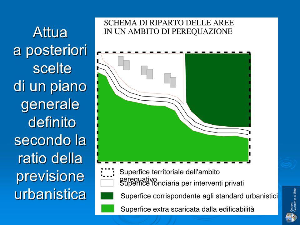 Attua a posteriori scelte di un piano generale definito secondo la ratio della previsione urbanistica
