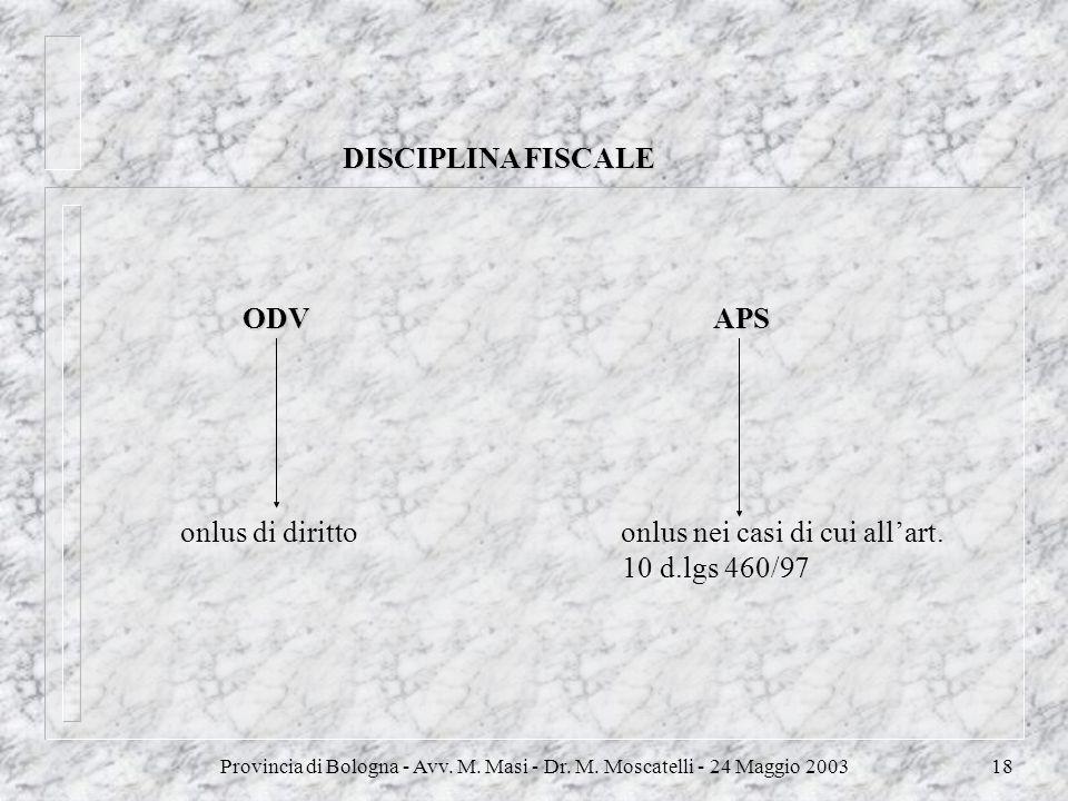 onlus di diritto onlus nei casi di cui all'art. 10 d.lgs 460/97