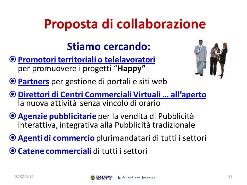 Proposta di collaborazione