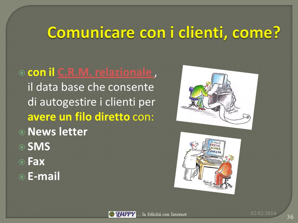 Comunicare con i clienti, come
