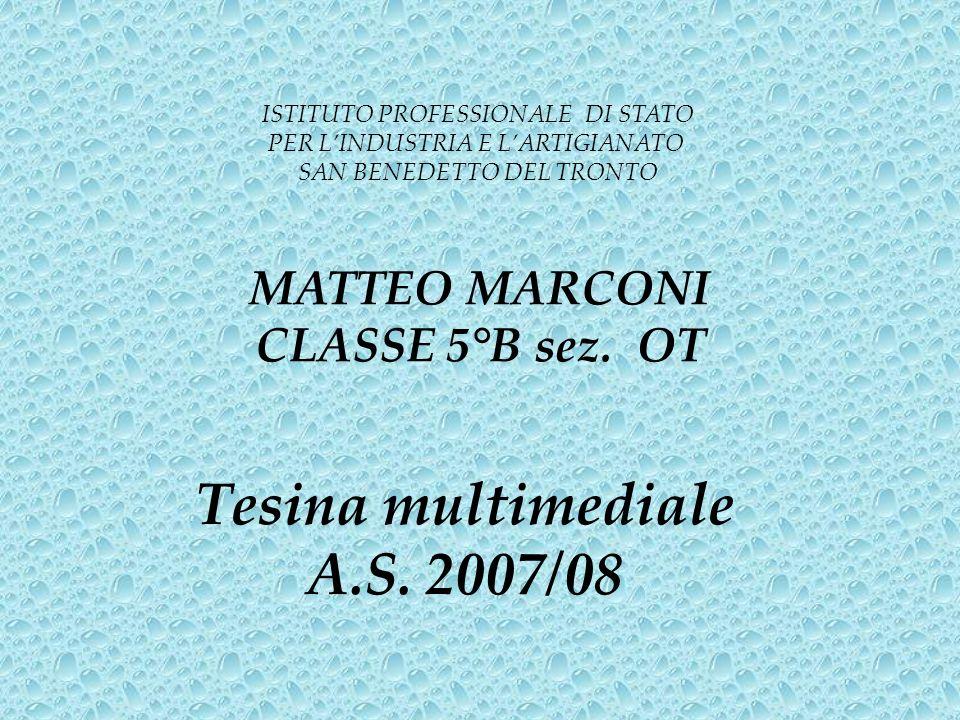 Tesina multimediale A.S. 2007/08