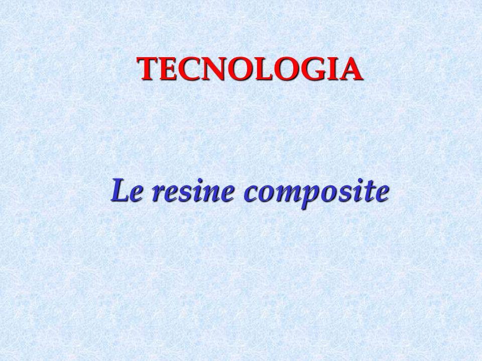 TECNOLOGIA Le resine composite