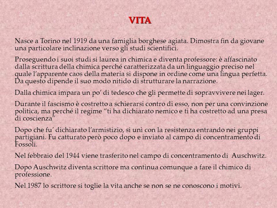 VITA Nasce a Torino nel 1919 da una famiglia borghese agiata. Dimostra fin da giovane una particolare inclinazione verso gli studi scientifici.