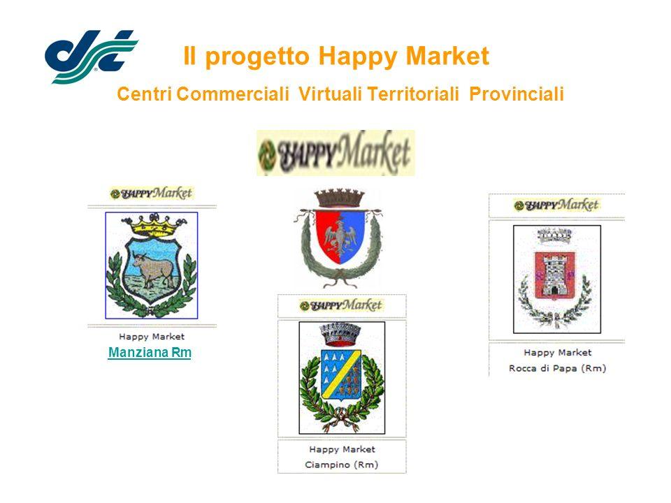 Il progetto Happy Market Centri Commerciali Virtuali Territoriali Provinciali