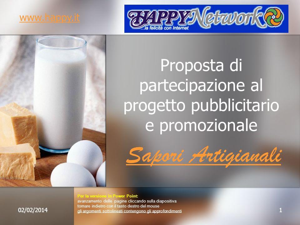 Proposta di partecipazione al progetto pubblicitario e promozionale