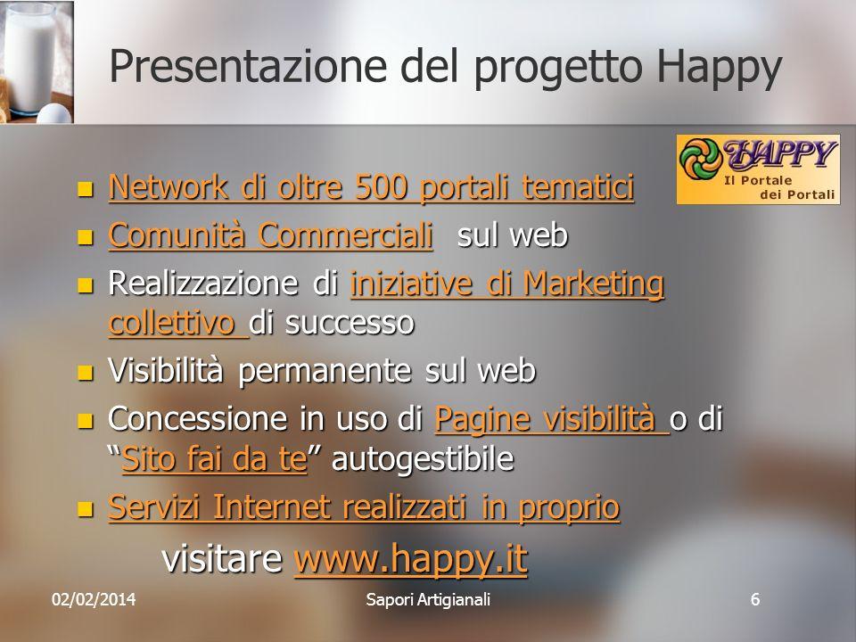 Presentazione del progetto Happy
