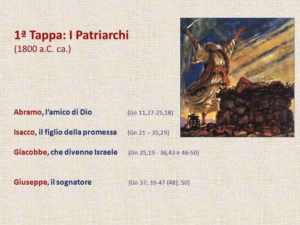 1ª Tappa: I Patriarchi (1800 a.C. ca.)